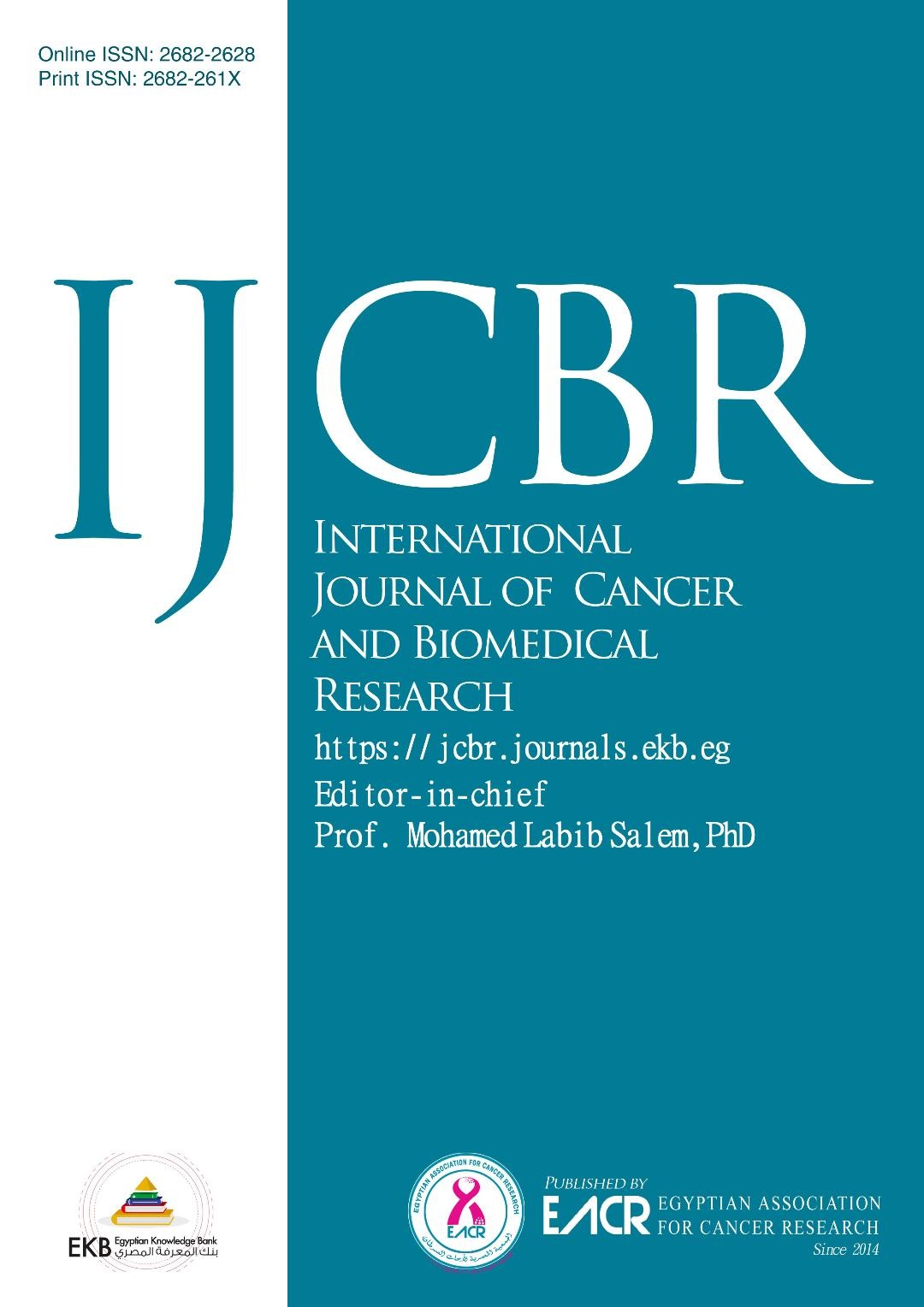 International Journal of Cancer and Biomedical Research